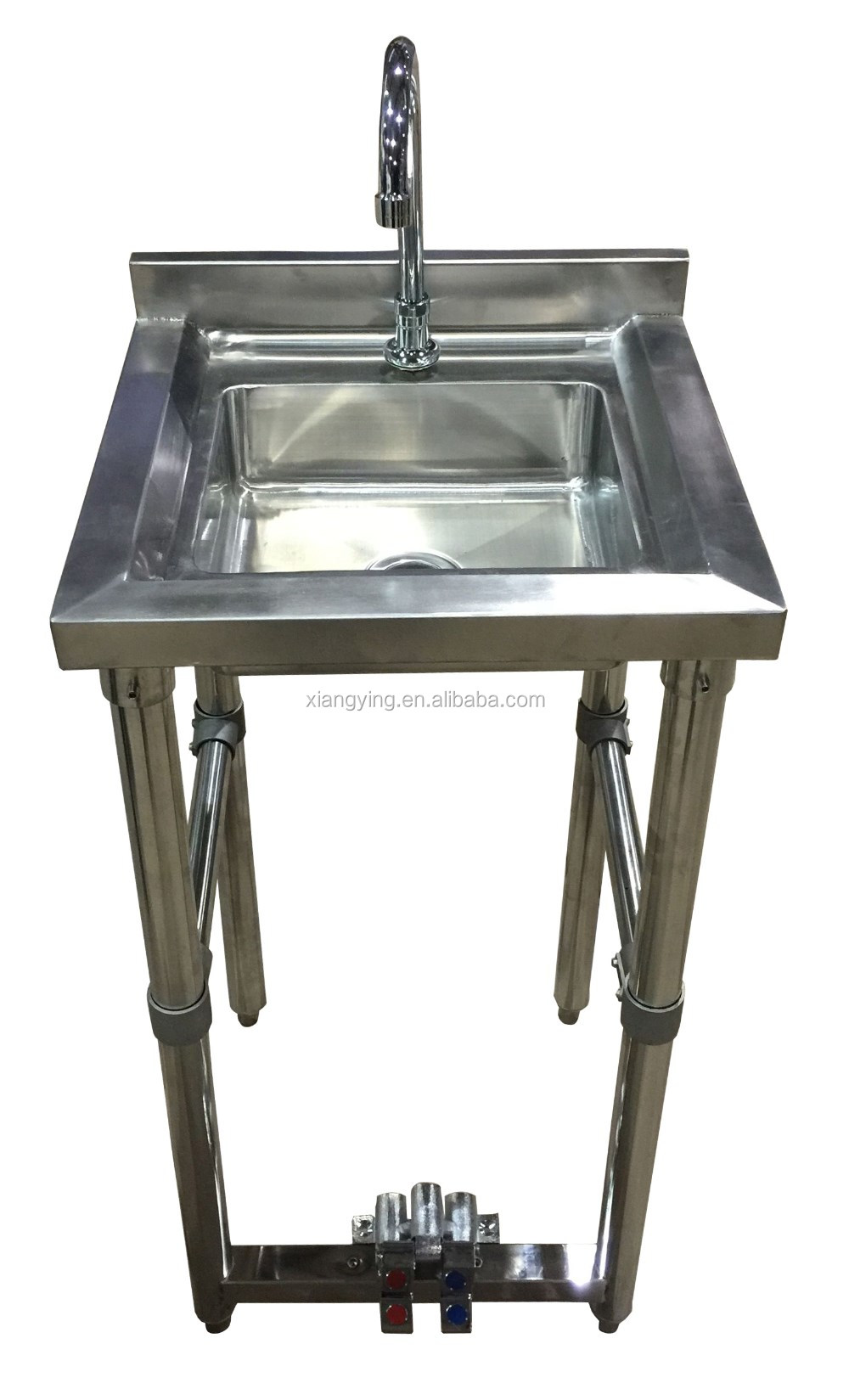 - Nsf Approval Stainless Steel Knee Pedal Operated Hand Wash Sink