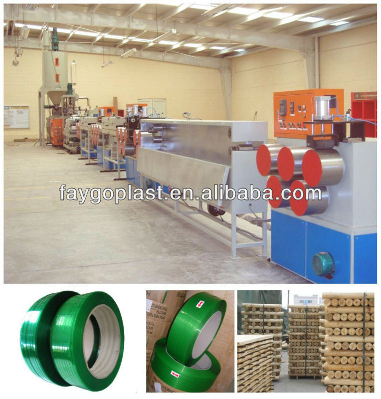 China supplier pet strap band production line