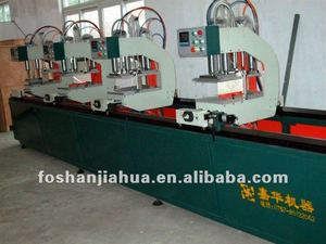 Doors and windows machinery doors and windows machine--Double Mitre Saw for Alu and PVC doors and windows machine
