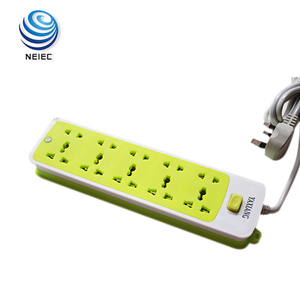 5 Outlet Power Strip With Surge Protector Extension Wire