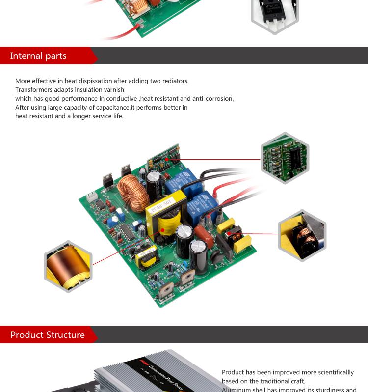 Schema 12v 220v 1000w Gallery Of Power Inverters W V V Power