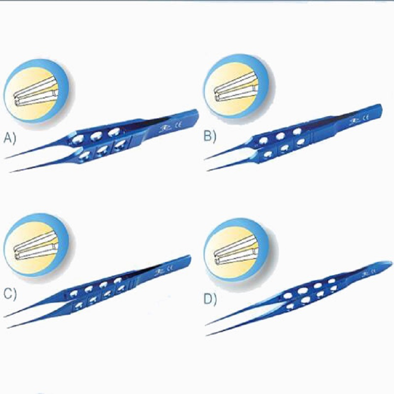Disposable Ophthalmic Instruments,Cataract Instruments,Straight Toothed  Forceps - Buy Surgical Tweezers Medical Forceps,Different Types Of Surgical