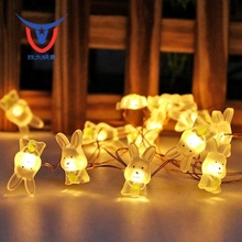 newest items animal shaped little puppy lights string led fairy indoor decoration lights for girls' room decoration