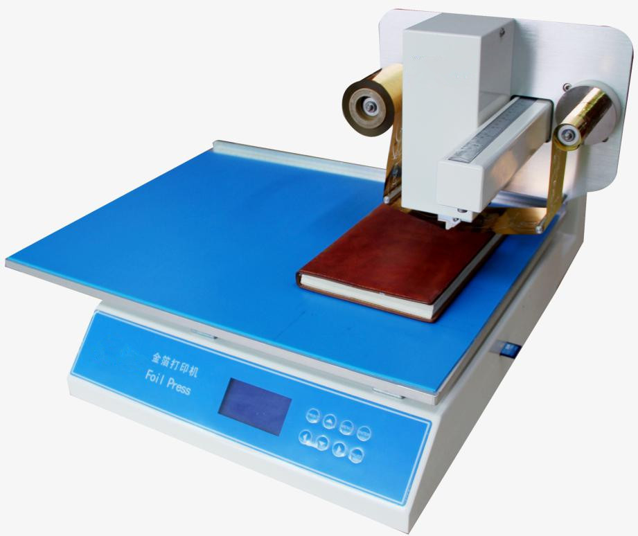 Hot Selling Digital Foil Printer Hot Stamping Printer with Design Software Print gilding press