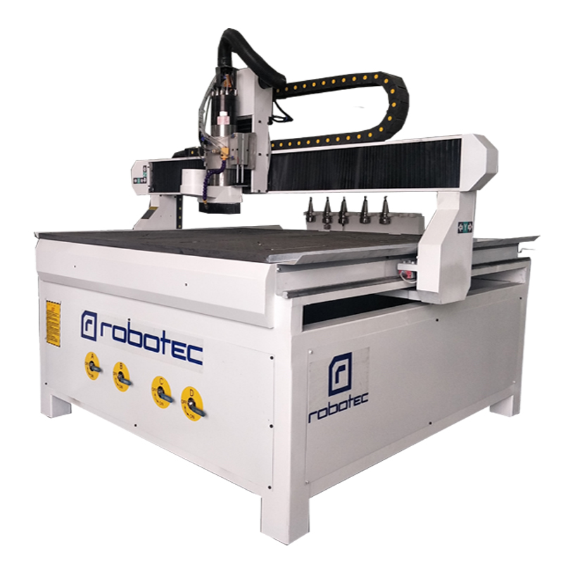 4 axis ATC cnc router voor funiture kant boren holesfor funiture kant boren gaten 1212 1224 hout router cnc