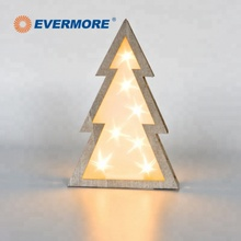 EVERMORE Christmas Tree Small 플라스틱 Fairy LED Frame <span class=keywords><strong>빛</strong></span> 상자