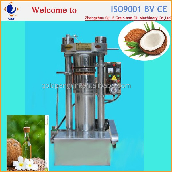 Made in China extraction of coconut oil