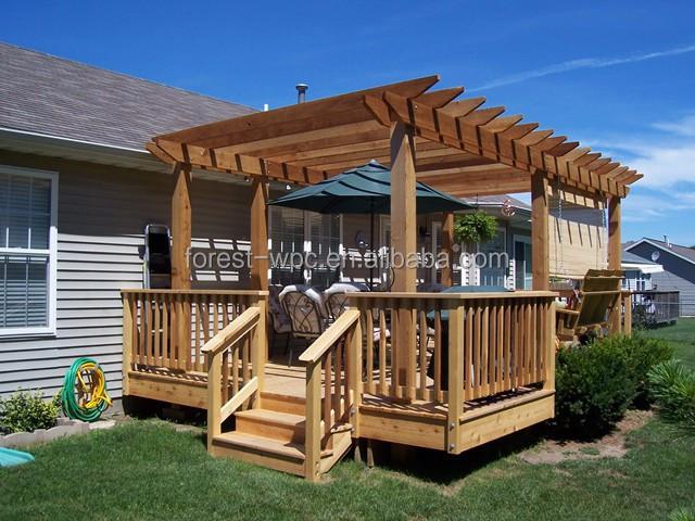 Wpc exterior kiosco dise o moderno wpc kiosco para la for Como construir un kiosco en madera