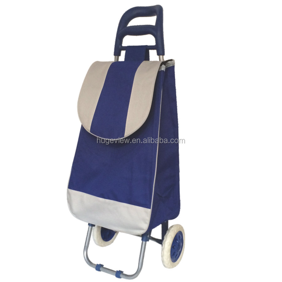 EVA wheel Foldable grocery shopping cart