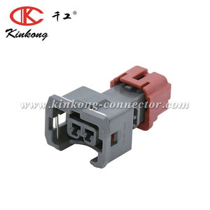 KinKong China Distributors 2 Way Electrical Waterproof Boschs EV1 Auto Fuel Injector Connector
