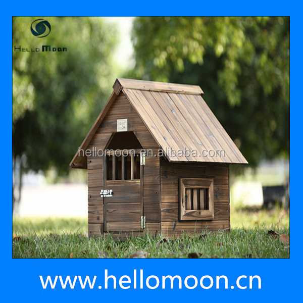 Wooden Dog House Anticorrosive Rainproof Pet Kennel