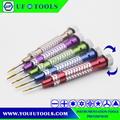 Mini screwdriver non magnetic phillips slotted Torx Hex screwdriver mobile phone disassemble tool