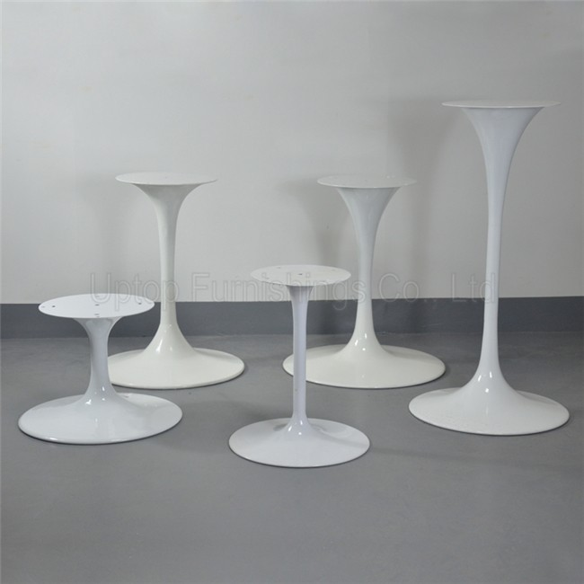 (SP GT116) Different Size Glossy White Lacquer Eero Saarinen Tulip Table  Legs