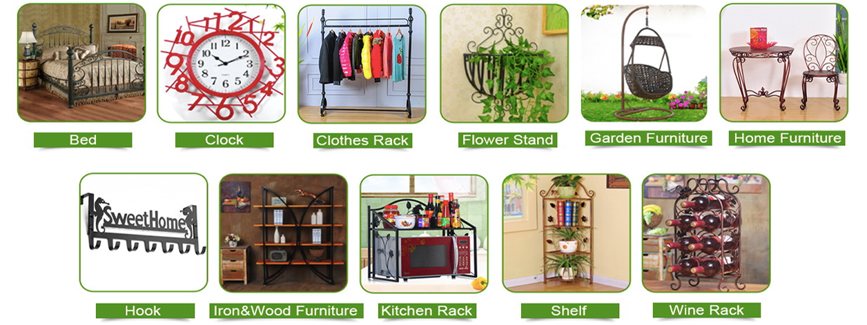 Anxi Xinying Handicrafts Co Ltd Metal Furniture Wood Iron Products