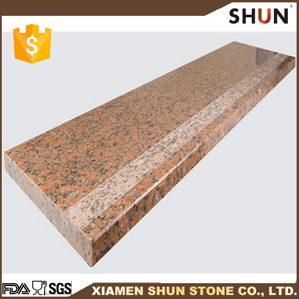 natural stone granite stair step for hotel interior decoration