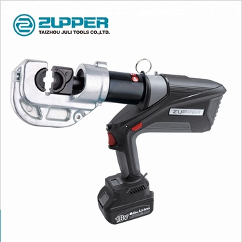 Zupper EB-400 Brushless motor battery powered hydraulic cable lug crimping tool 16mm to 400mm