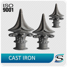 Custom ornamental iron castings