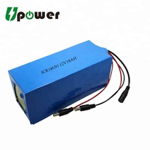 12V 18Ah Li-ion Battery Pack 18650 Battery Pack Li ion Rechargeable Battery for EV Electric Car
