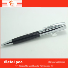 2014 Black and Chrome Colour Metal Ball Pen (with sucessful business men's temperament )