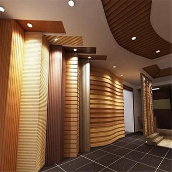 Decorative Wood Panel Wall Cladding Wpc Wall Siding