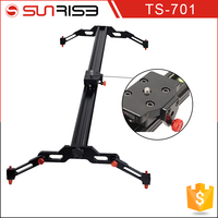 Sunrise 80/100/120cm dslr Video Camera Motorized Shooting Rail Dolly Track Slider with Carry Bag