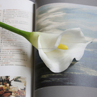 Real Touch Artificial Calla Lily Bulk Floral Artificial Yard Flowers Bouquet Wedding Party Decor