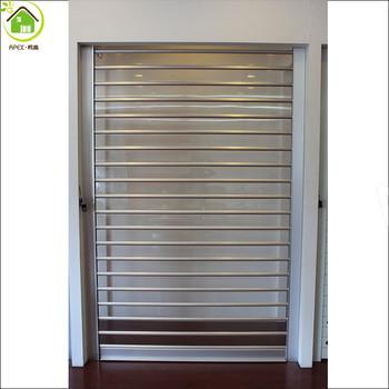 Polycarbonate clear garage door /transparent rolling shutters door/overhead door garage doors & Polycarbonate Clear Garage Door /transparent Rolling Shutters Door ...