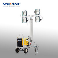 Mobile diesel LED explosion-proof lighting for outdoor lighting
