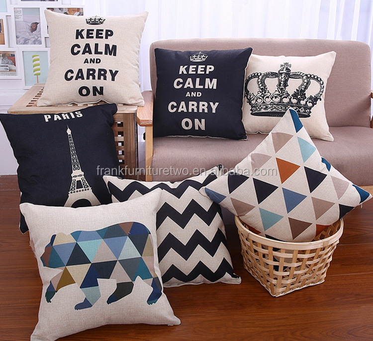 Import China products decorative sofa chair pillow buying on alibaba