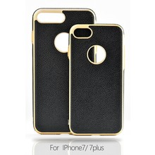 High Quality Luxury PU Leather Mobile Cover Phone Case For Iphone 7 plus