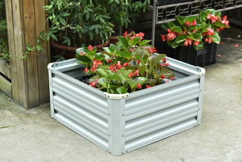 Steel Raised Garden Bed Planter Box Pots Green Free For Agents