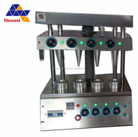 Automatic stainless steel pizza cone holder/cone pizza machine for sale