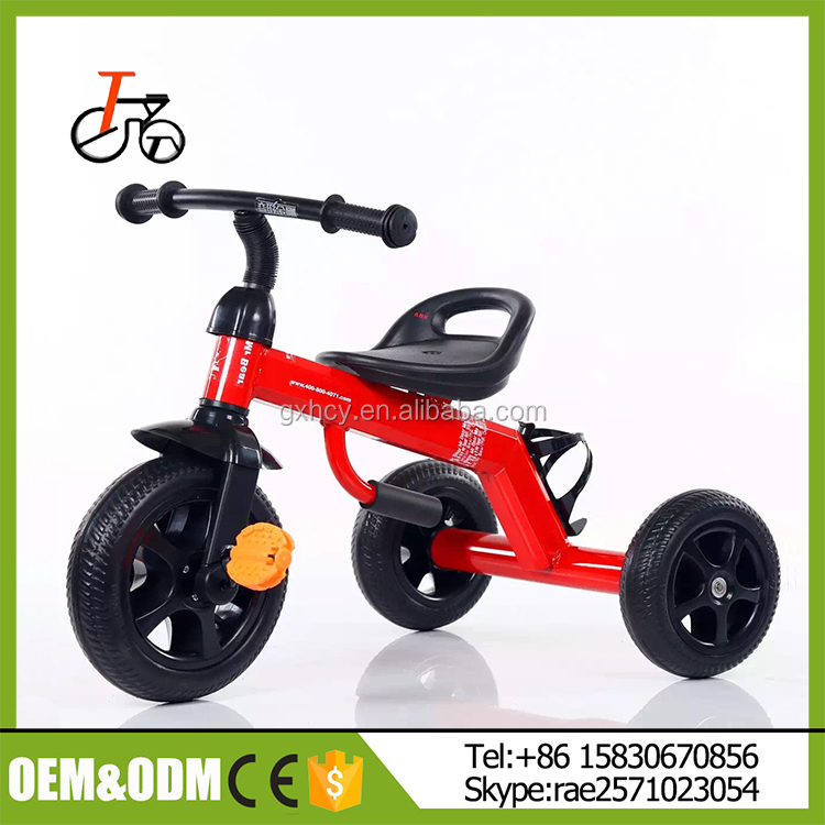 High Quality Steel Frame Child Tricycle with EVA Tyre/Cheap Kids Tricyclefor babies/Baby Tricycle Kids Bike with certification