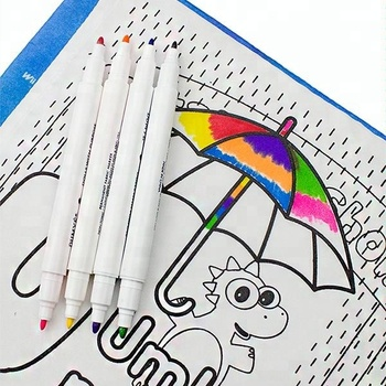 Non-toxic DIY Permanent Fabric Marker Wholesale for Kids remove permanent marker fabric promotional pens with custom logo