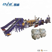 Waste Plastic PP Woven Bag Recycling Washing Line for sale dirty PP PE film crushing washing machine