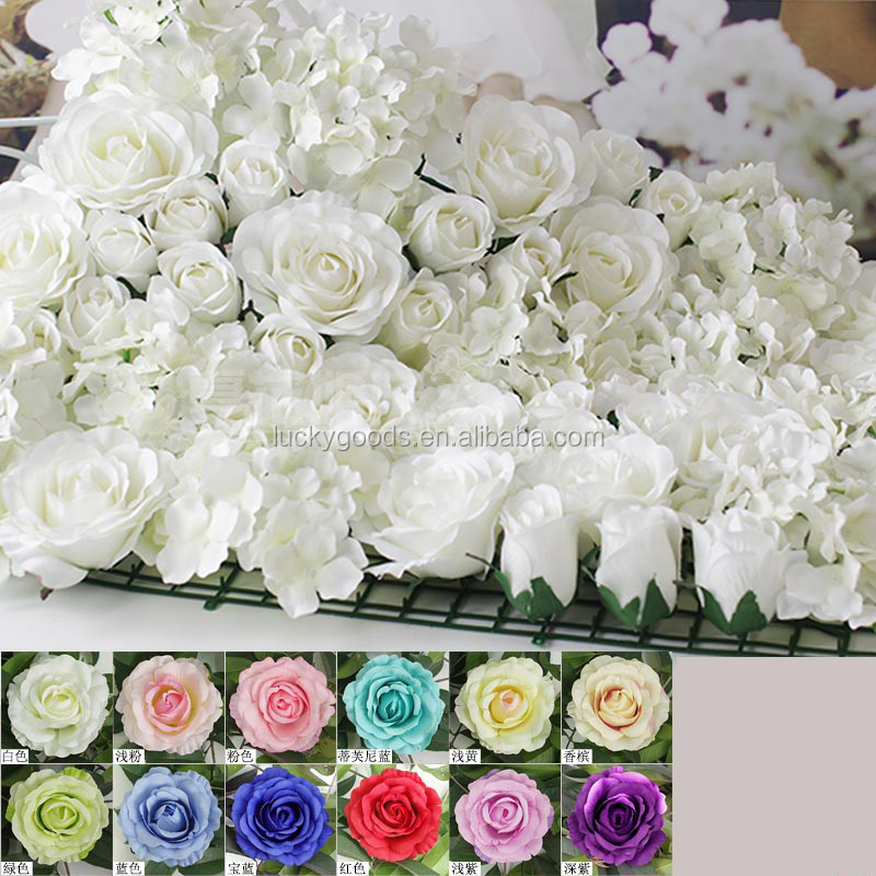 Top Rated Double Heart Artificial Flower Wreath Wedding Backdrop Decoration