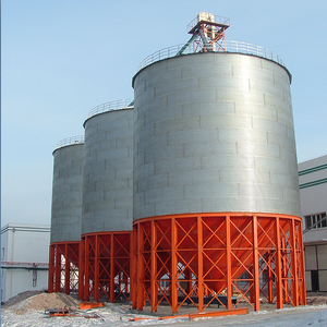 New type Professional Design Products 100 Ton Small Steel Flour Hoppe Silo For Sale