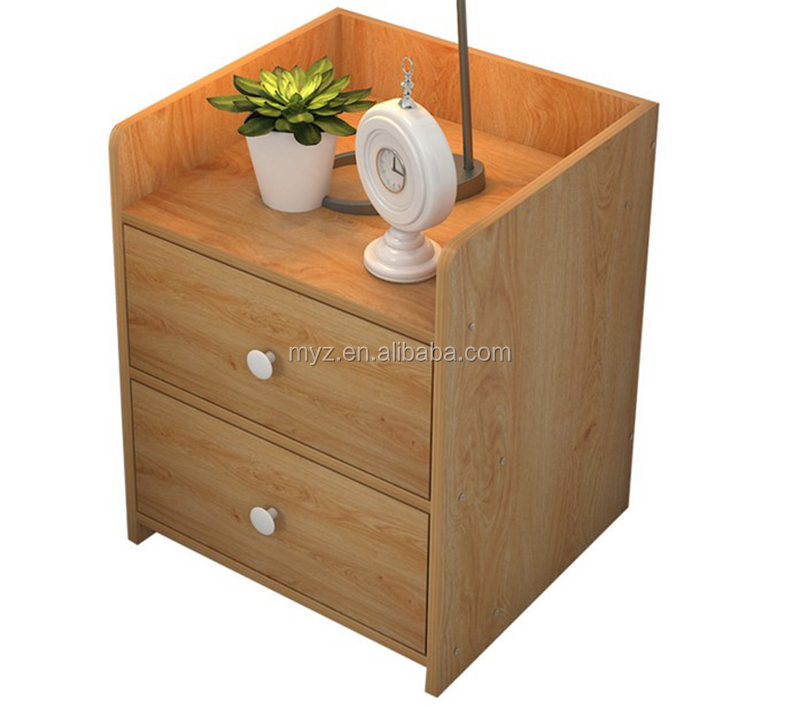 High quality bedside table modern solid wood nightstand in bedroom side table