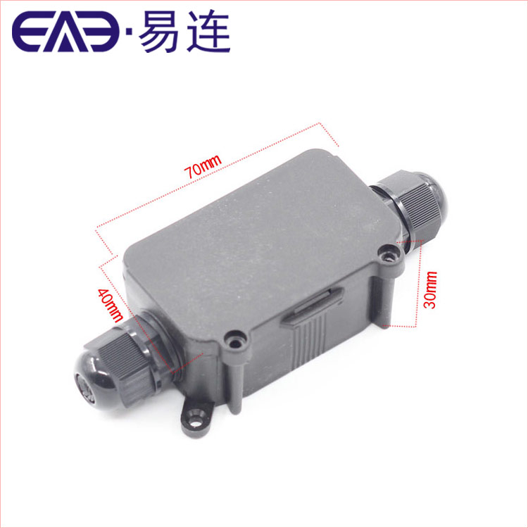 EB3 Plastic Electrical Waterproof Box IP66 Outdoor LED Lighting Cable Connection Junction Box