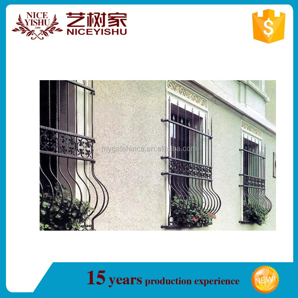 Window grill design and color - Cheap Price Modern Simple Iron Window Grill Color For Sale