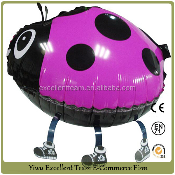 Hot selling!! inflatable mylar walking pet balloon