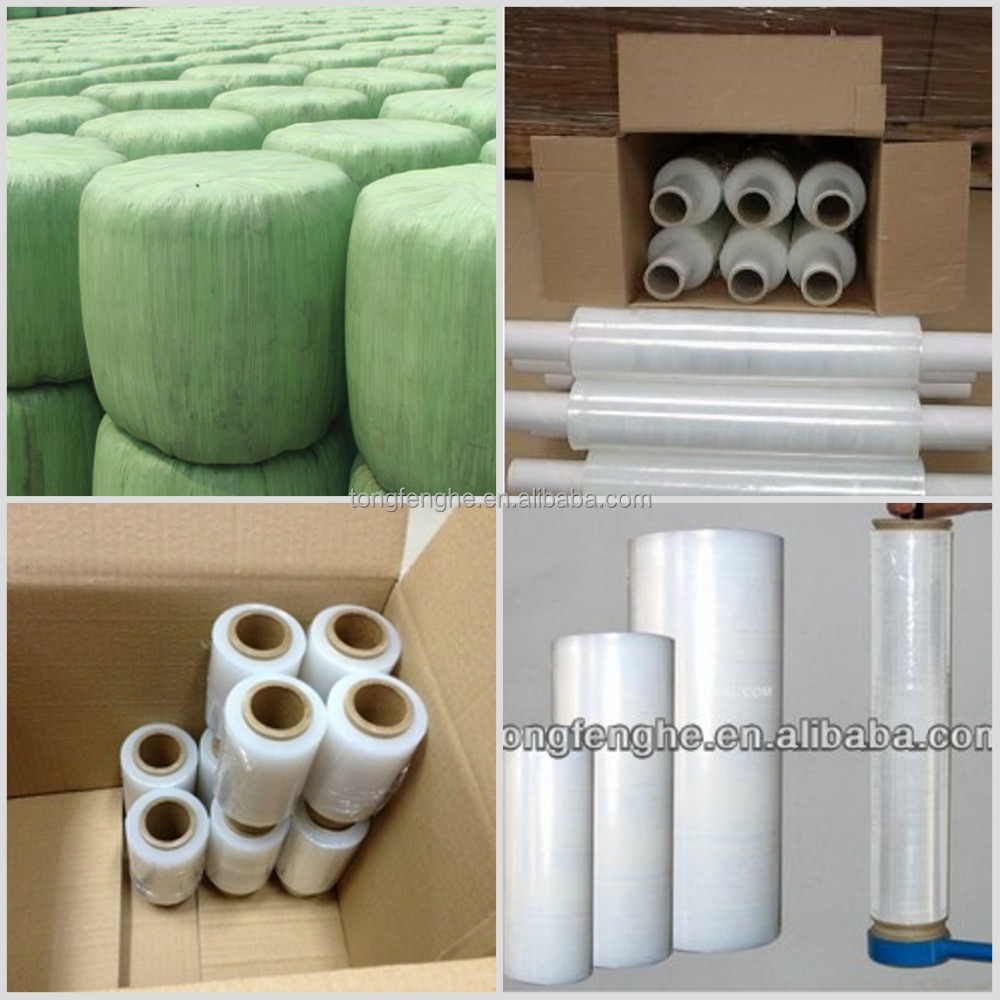 Hot Film LLDPE Silage Wrap Film Hay Bale Wrap