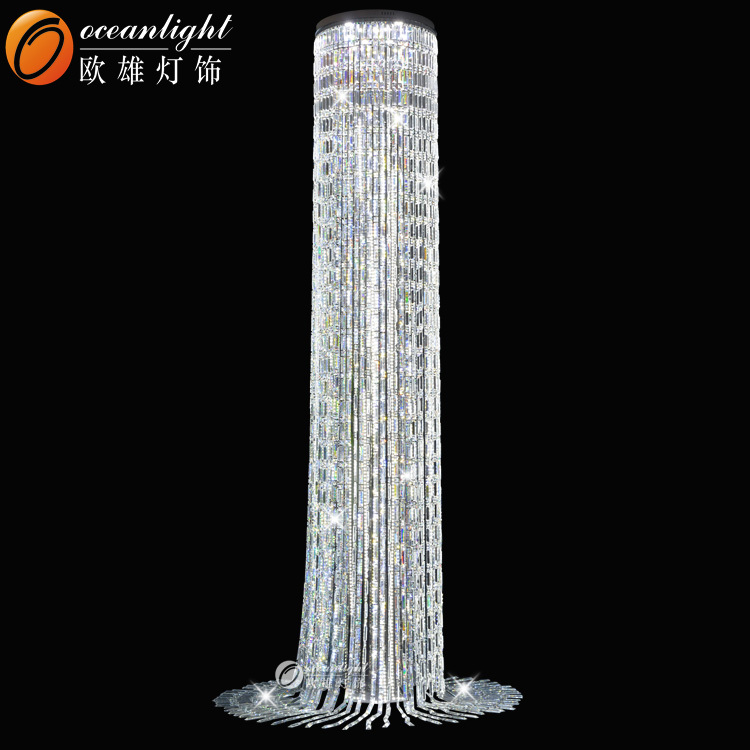 Customer Size Large Crystal Chandelier Hanging Lamp Stage Lighting Stand Om88543