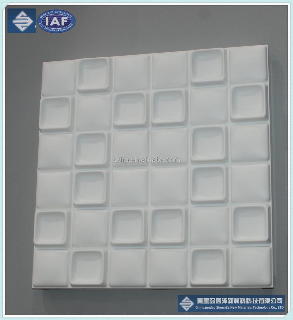 GRP Decorative Panel/ Art Wall Panels /frp Bathroom Waterproof Wall Board