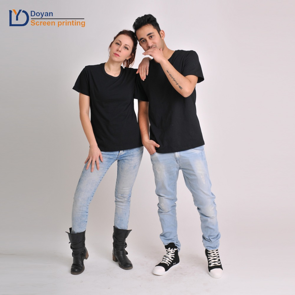 2018 Baru T Kemeja Pencetakan Warna Solid T Shirt