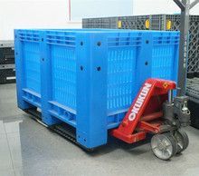Heavy Duty Storage Stackable Vented plastic pallet Mega bin for sale