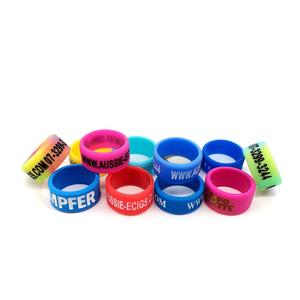 Party Gift Custom Silicone Thumb Band Silicone Rubber Finger Ring
