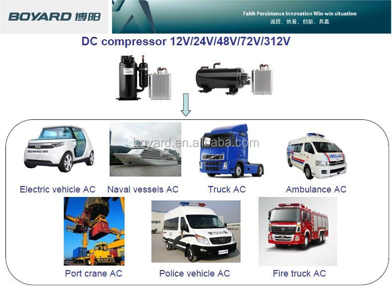 12 Volt Rv Air Conditioner With Boyard Bldc Rotary Compressor Dc ...