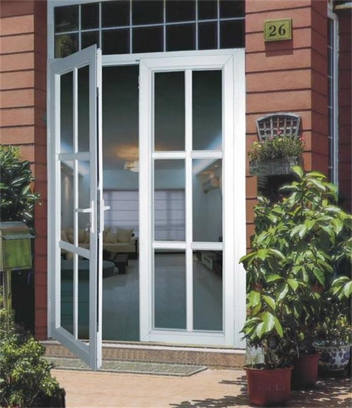 Used Upvc French Doors Sale Part - 46: Hot Sale Main Gate Design Home / Used Exterior French Doors For Sale /  Aluminum Double