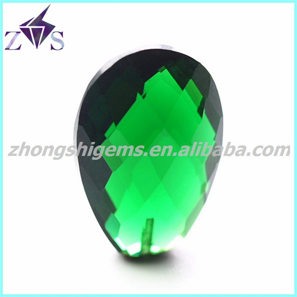 Emerald and Blue Spinel Gem Stone